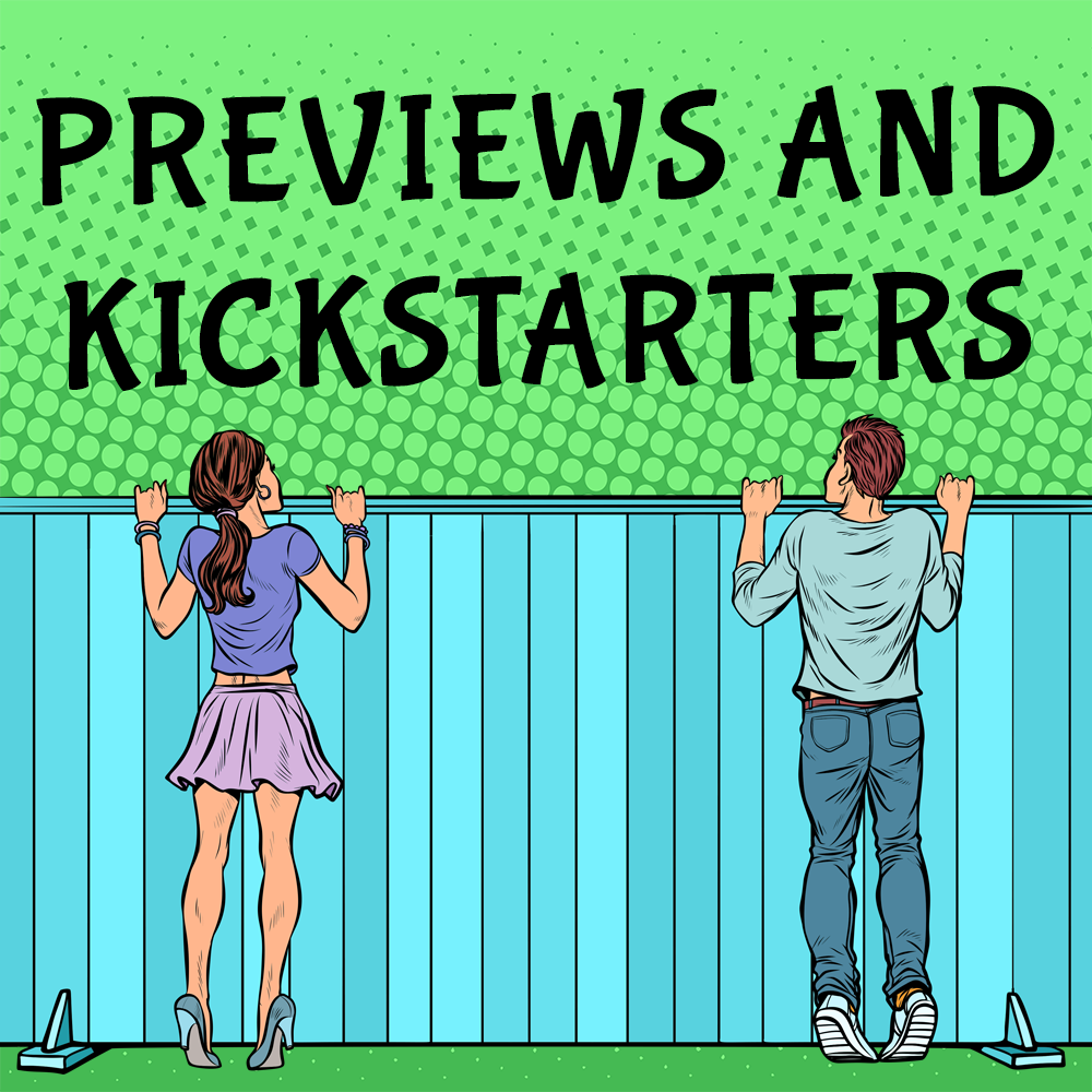 Read about upcoming games and kickstarters