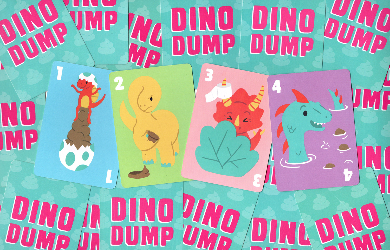 Dino-Dump-Number-Cards
