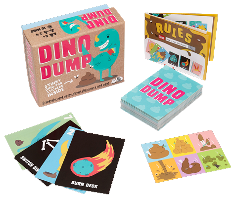 Dino Dump by Matt Edmondsonpublished by Big Potato Games