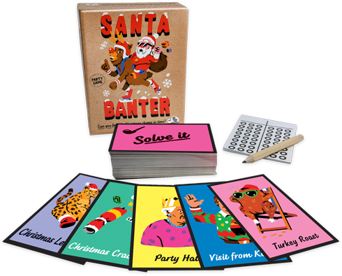 Santa Banter by Matt Edmondsonpublished by Big Potato Games