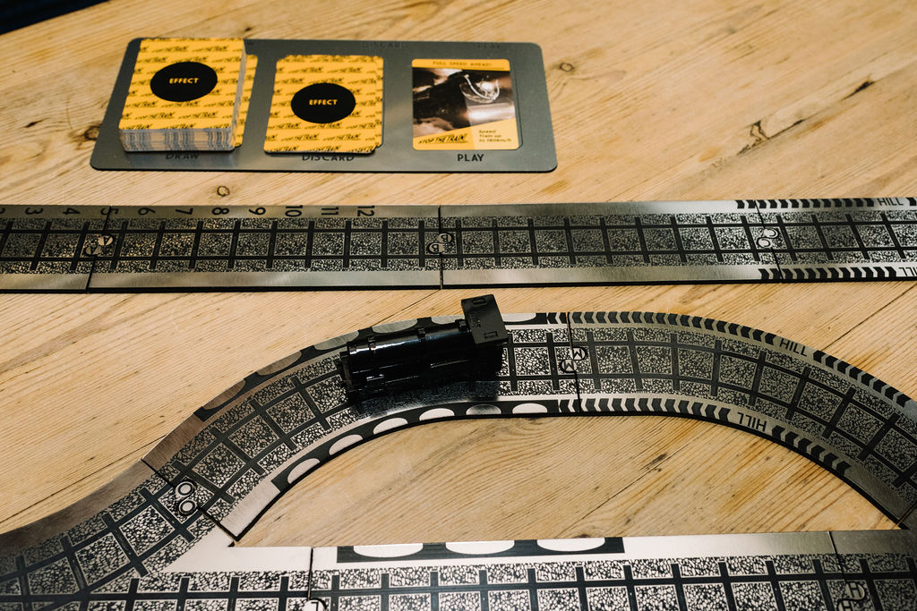 Detail of the prototype board Image courtesy of Stop the Train!