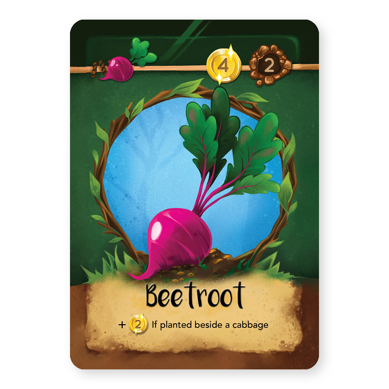 Beetroot Image courtesy of Moonstone Games