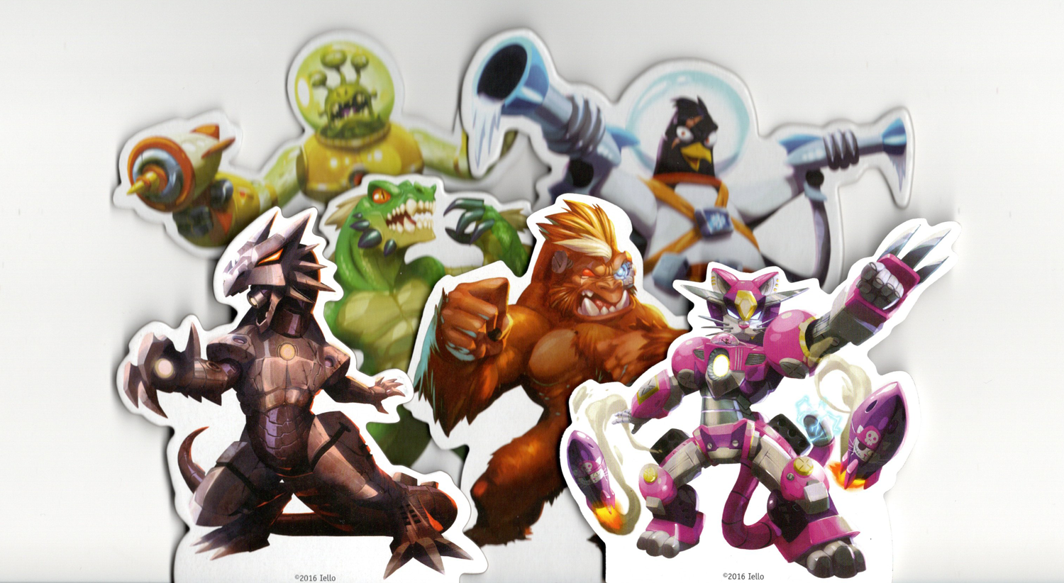 King-of-Tokyo-Characters