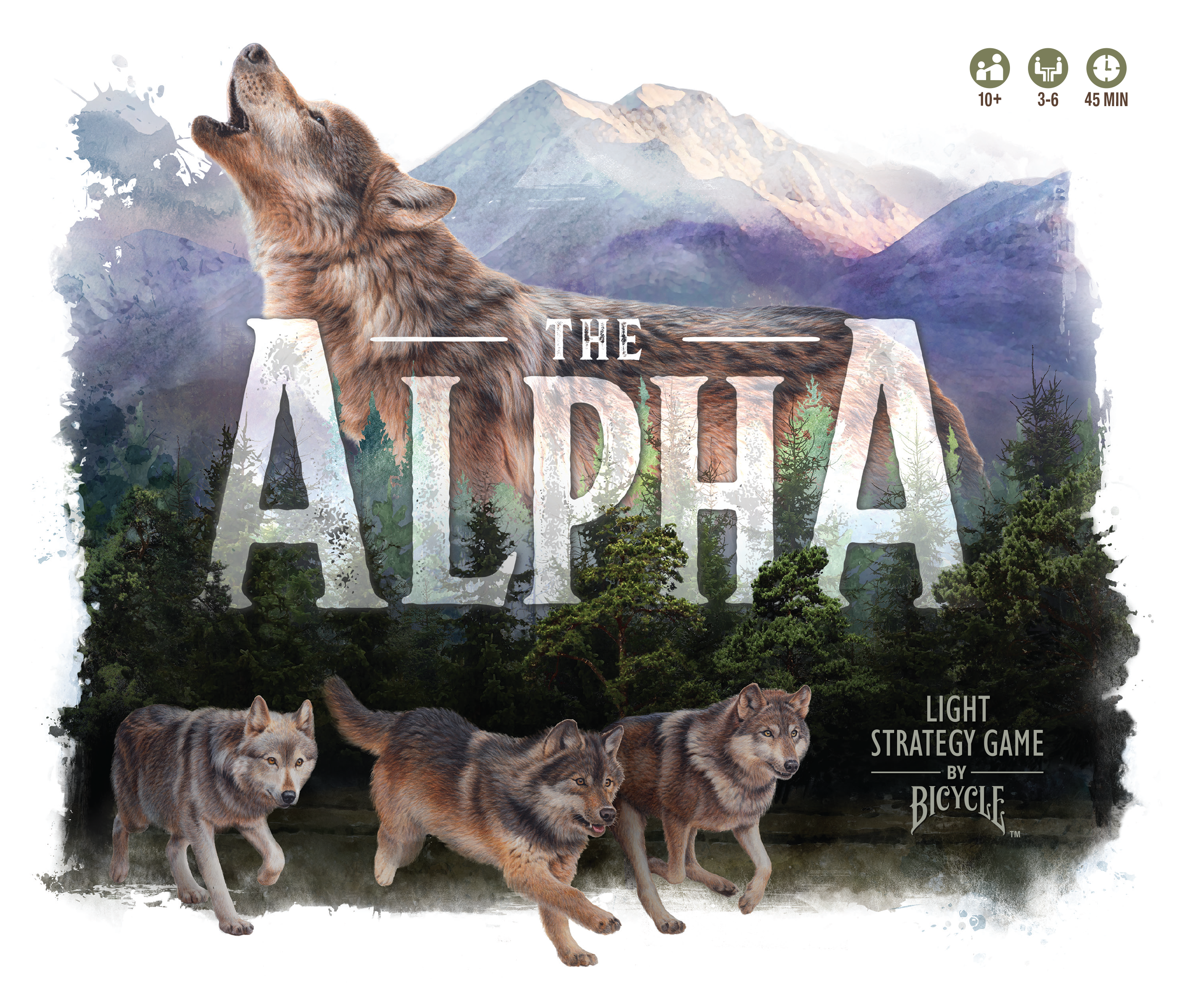 The Alpha - Box Front
