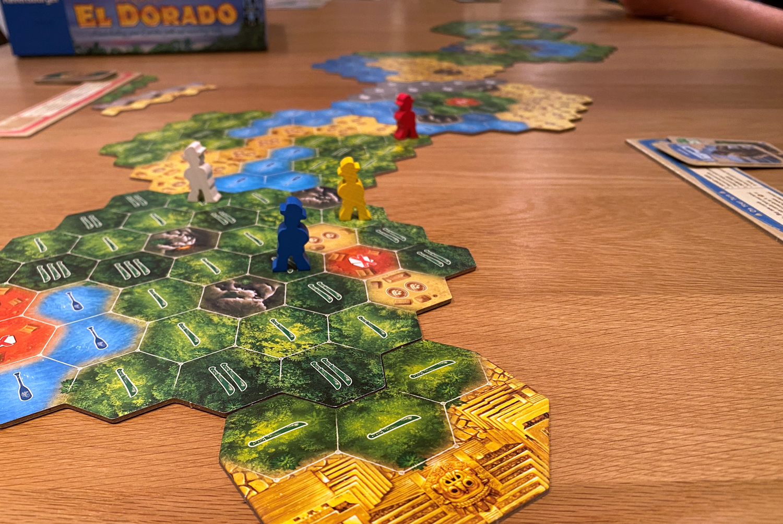Quest-for-El-Dorado-Board