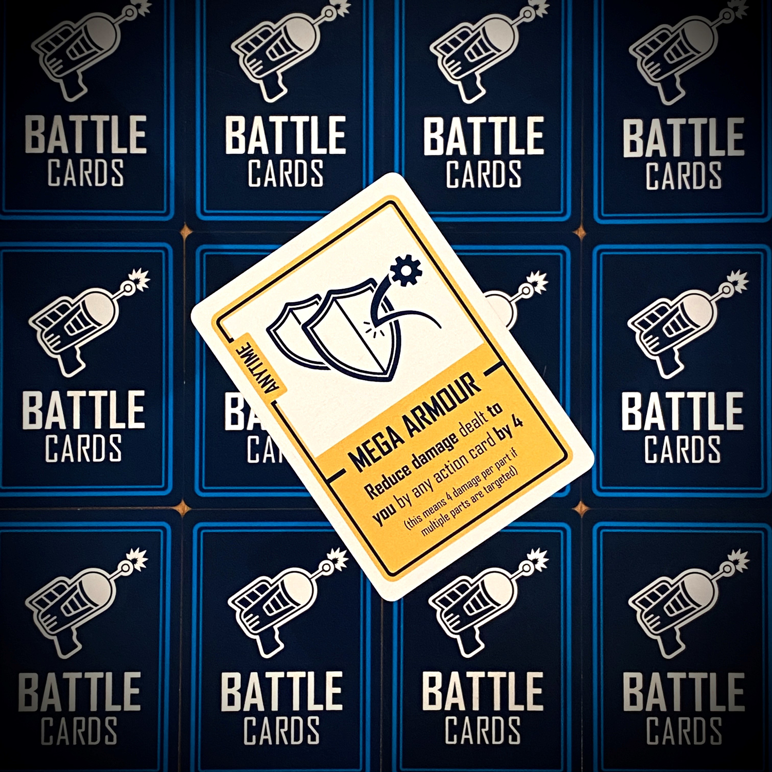 Anytime cards can be played at anytime in Bots Up, as you might expect!