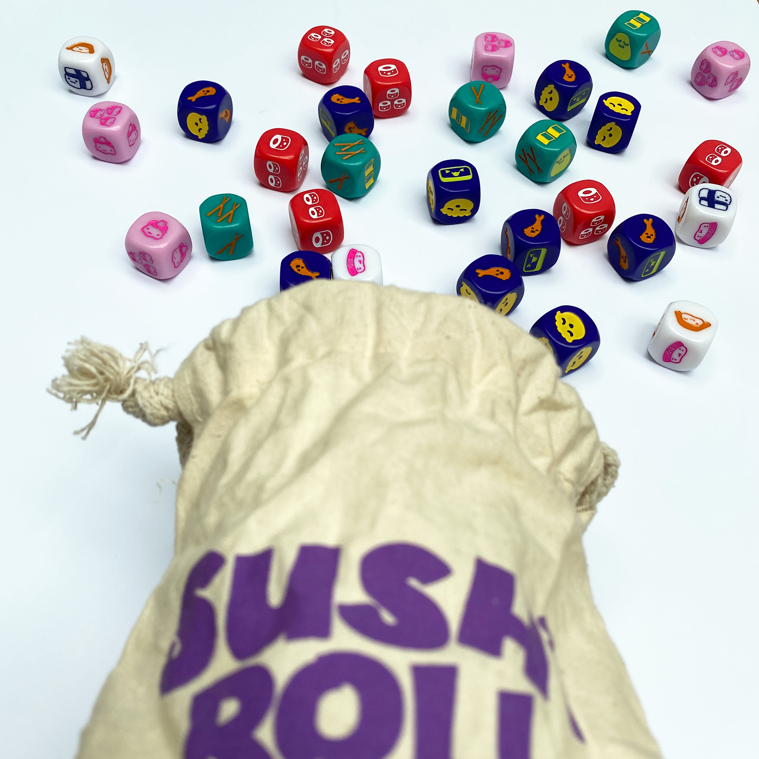 Sushi-Roll-Dice-Bag
