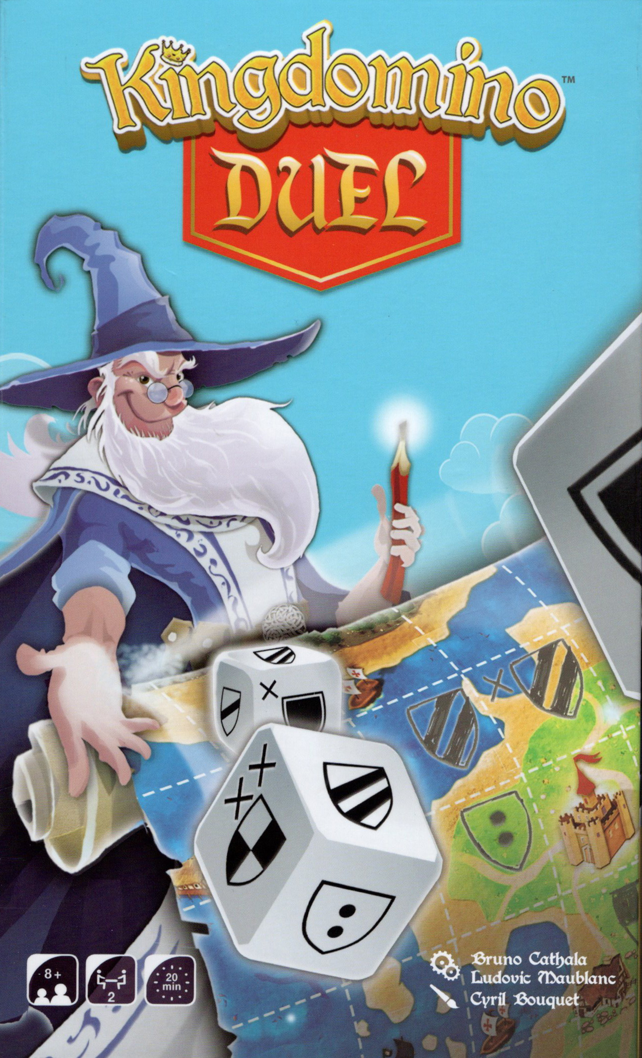 Kingdomino Duel Box