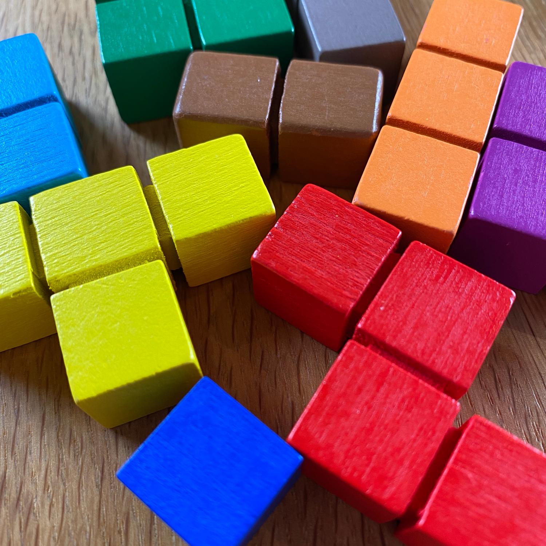 Genius-Square-Polyomino-Pieces