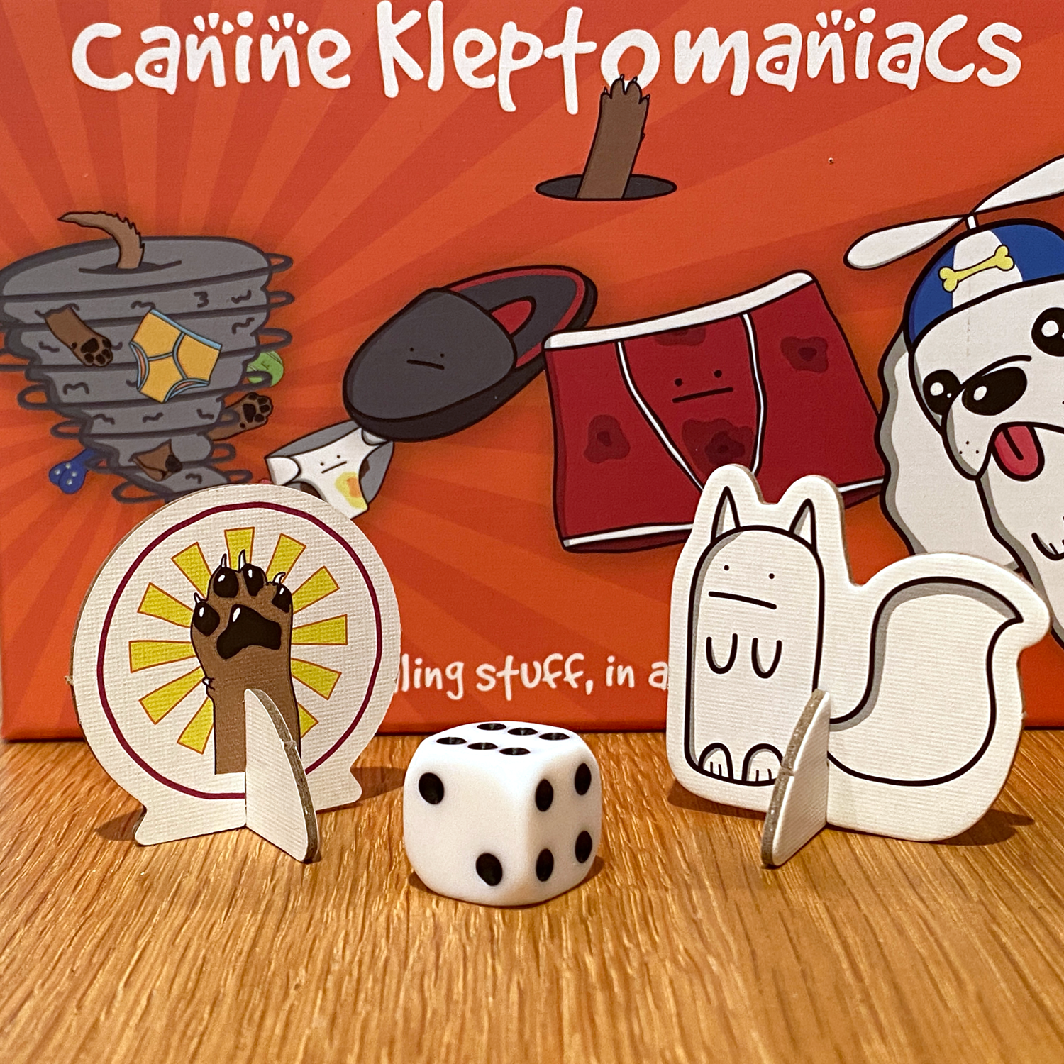 Canine-Kleptomaniacs-Standees