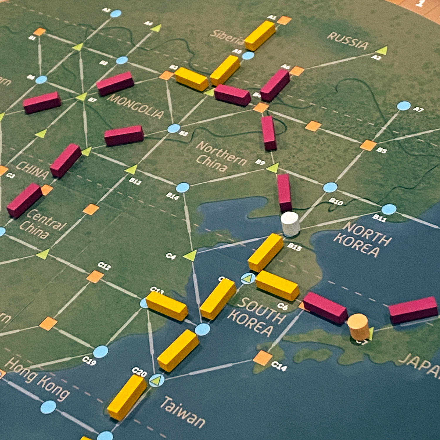 Detail of the Fly-A-WayBoard Game Links
