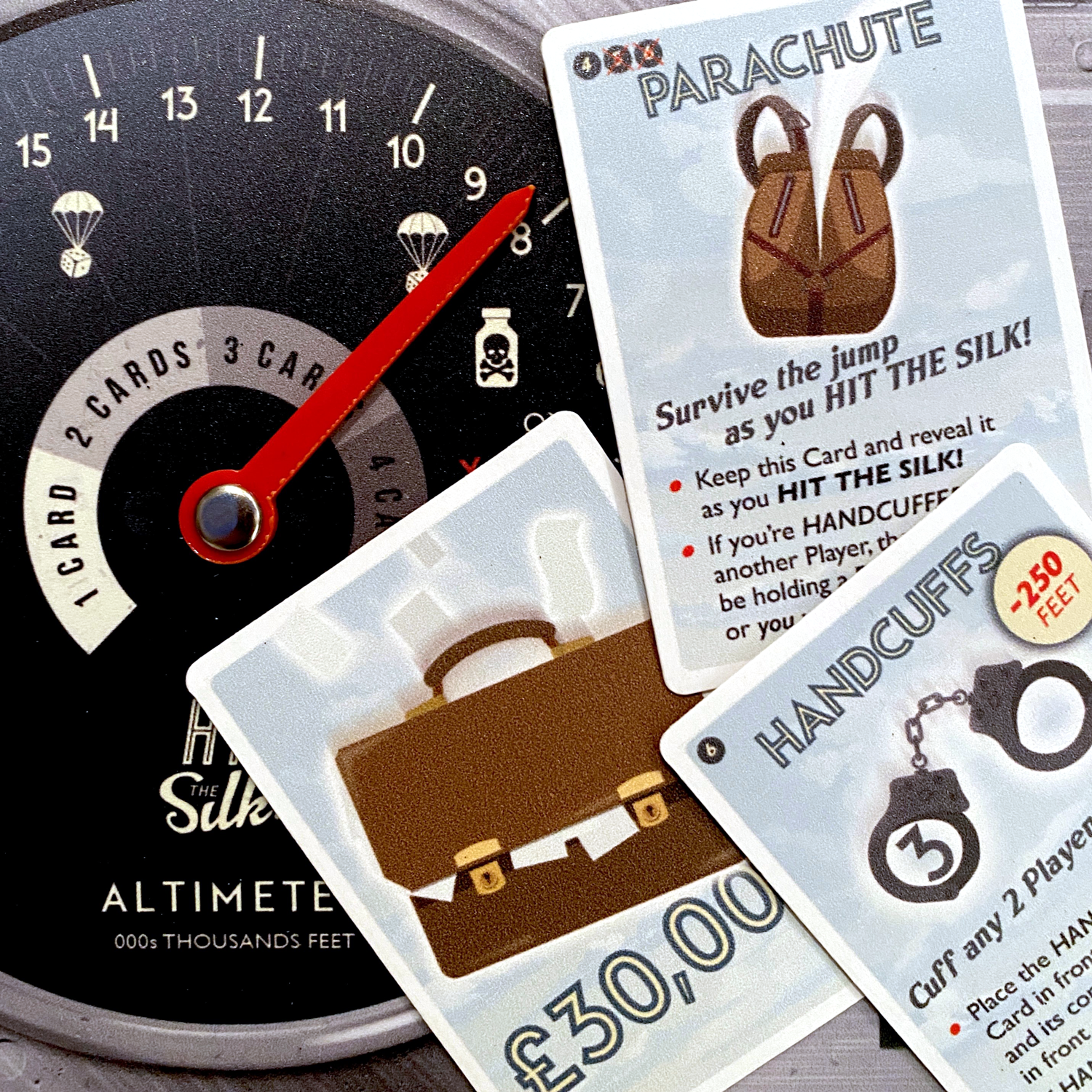 Would You Hit the Silk with these cards? Image © Board Game Review UK