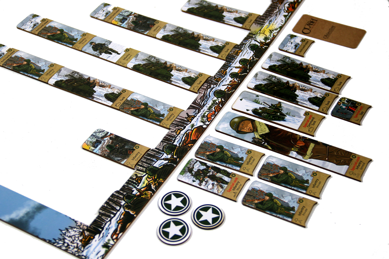 Clash of the Ardennes Game set up Image courtesy of Elwin Klappe
