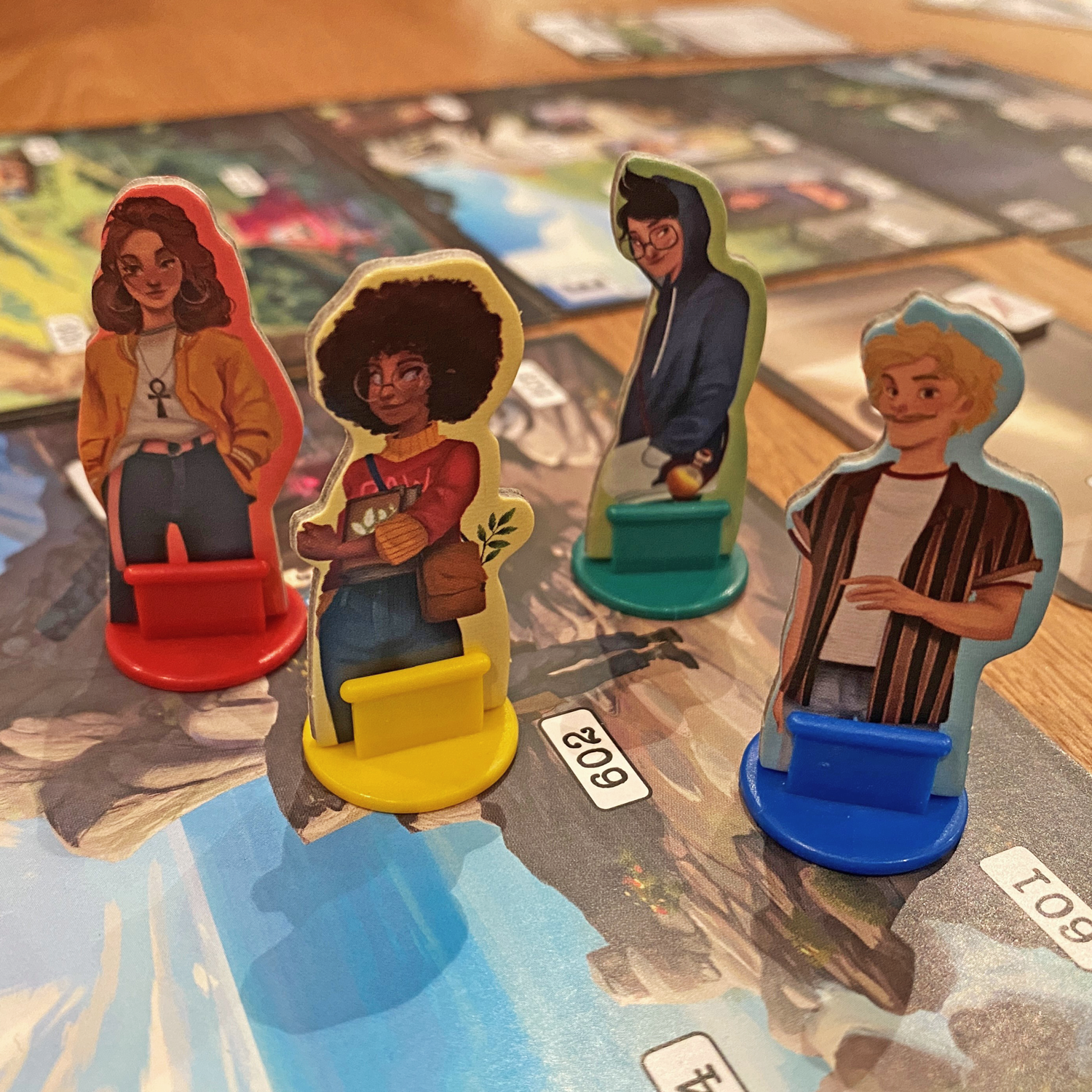 Adventure-Games-The-Volcanic-Island-Characters