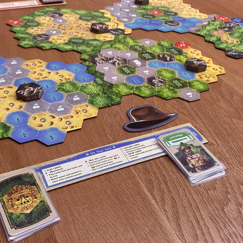 The-Quest-for-El-Dorado-Review-Player-Board