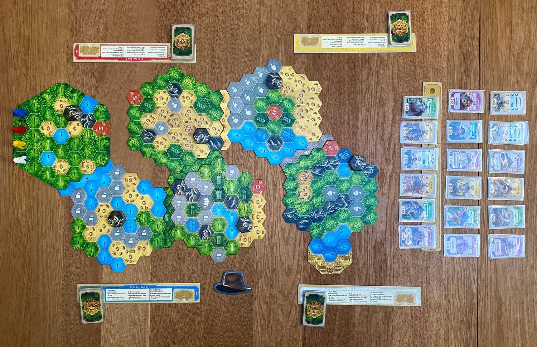 The-Quest-for-El-Dorado-Review-set-up