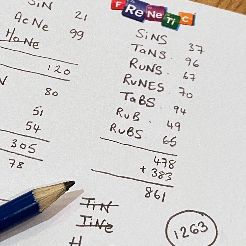 Frenetic-Score-Pad
