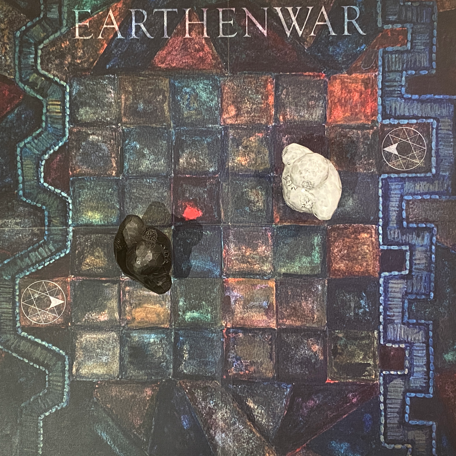 Overhead View of Earthenwar Board GameImage © Board Game Review UK