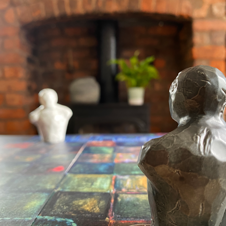 Earthenwar Ceramic Golems designed by Jessica Sallay-CarringtonImage © Board Game Review UK
