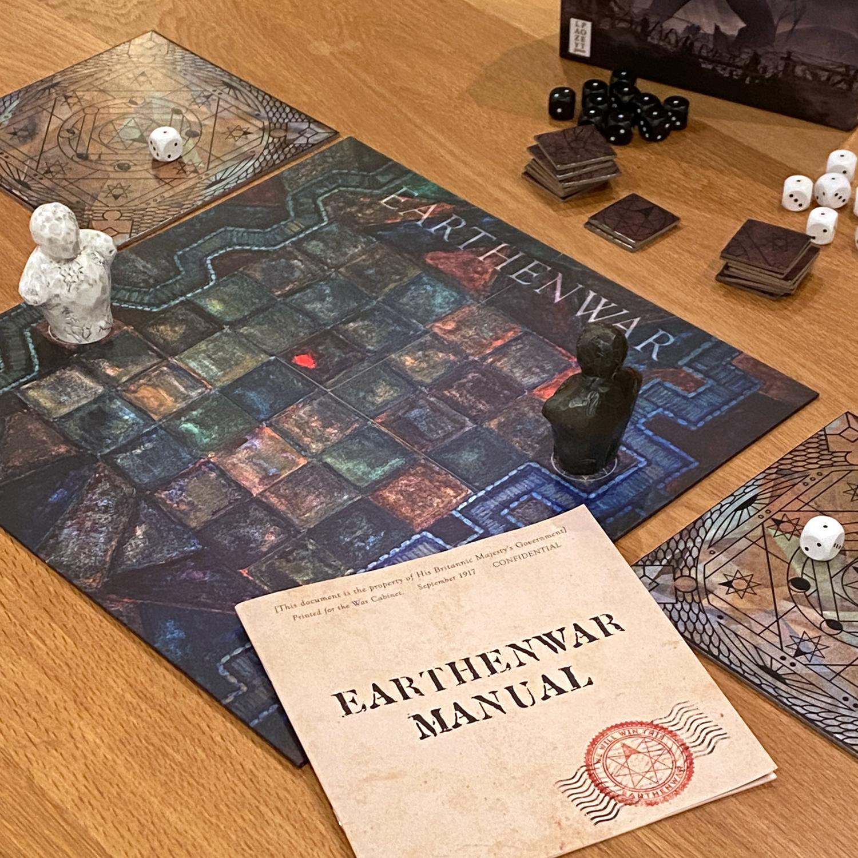 Earthenwar Setup Image © Board Game Review UK